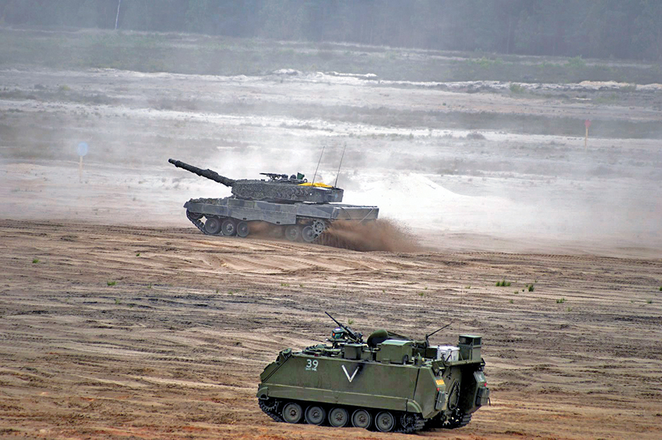 NATO troops practice at Noble Jump 2015 in Poland. REUTERS