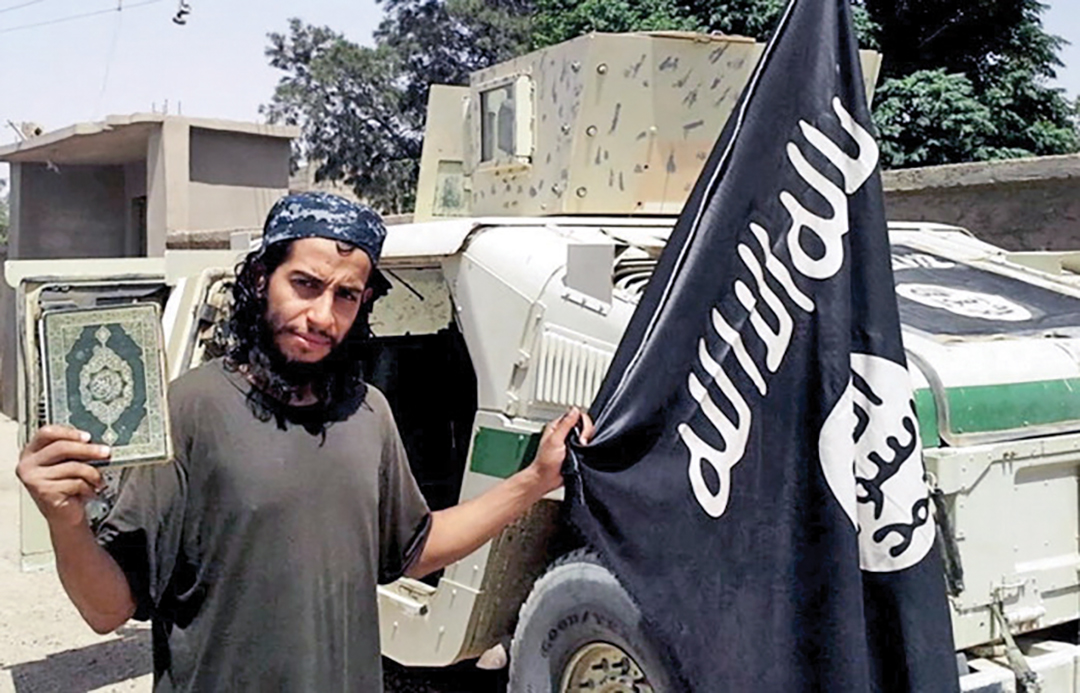 Abdelhamid Abaaoud, a Belgian national suspected of planning the November 2015 terror attacks in Paris, may have used a fake passport to slip back into Europe among the flow of refugees. REUTERS