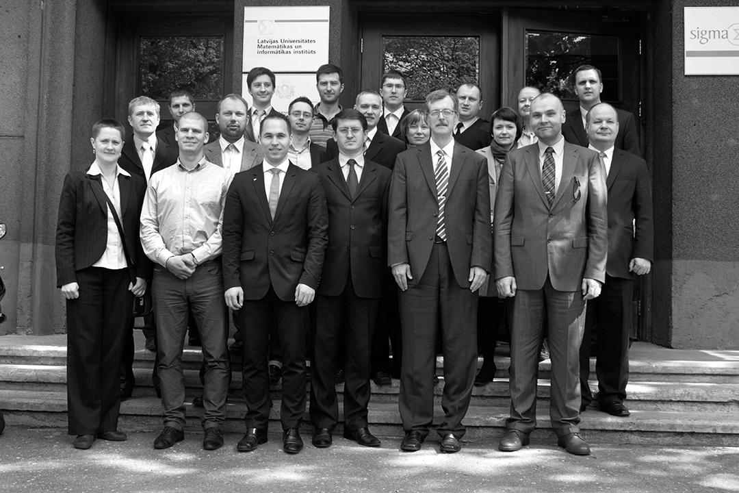 Baltic cyber experts meet in Riga, Latvia, in 2012. [VYTAUTAS BUTRIMAS]