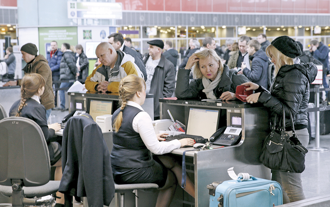 Ukrainian authorities will review how to improve the defense of government computer systems, including at airports and railway stations, after a cyber attack on Kyiv's main airport was launched from a server in Russia in January 2016. REUTERS